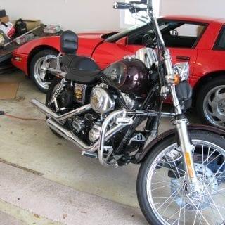 Harley-Davidson DynaGlide motorcycle