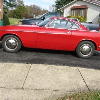 Volvo P1800 two-door coupe