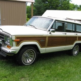 Jeep Grand Wagoneer Limited sport utility vehicle