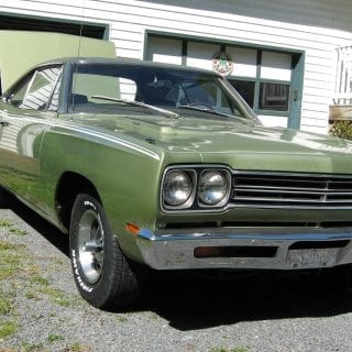 Plymouth Roadrunner two-door hardtop