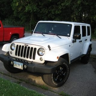 Jeep Wrangler Unlimited sport utility vehicle
