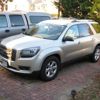 GMC Acadia sport utility vehicle