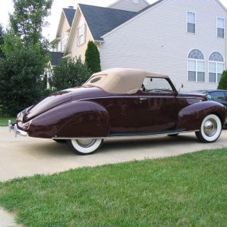 Lincoln Zephyr convertible