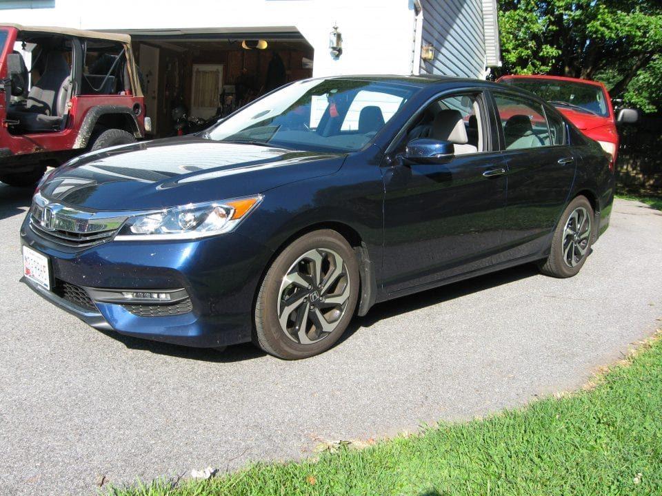 Honda Accord EX four-door sedan