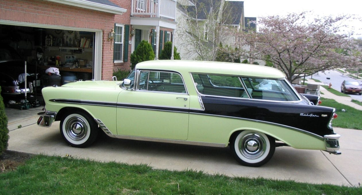 "`56 Chevrolet Bel Air Nomad: The ""Queen of the Line!"""