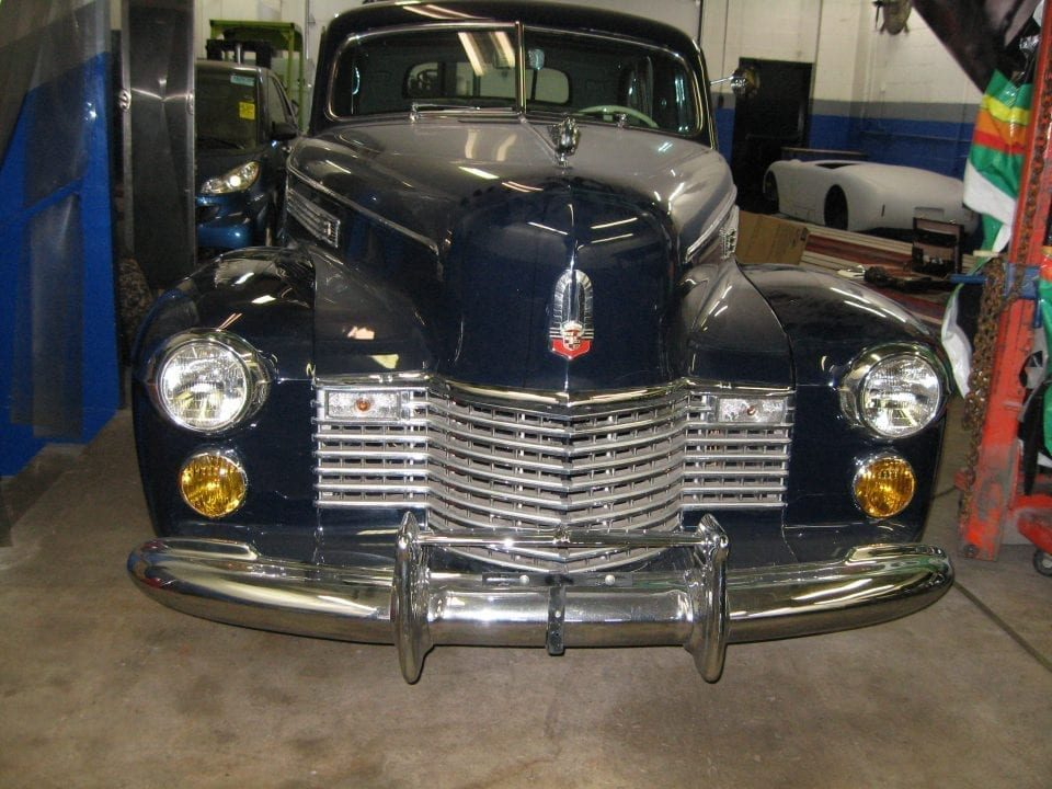 Cadillac Fleetwood Imperial seven passenger sedan