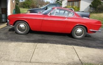 One-Owner `62 Volvo P1800 Sports Car!
