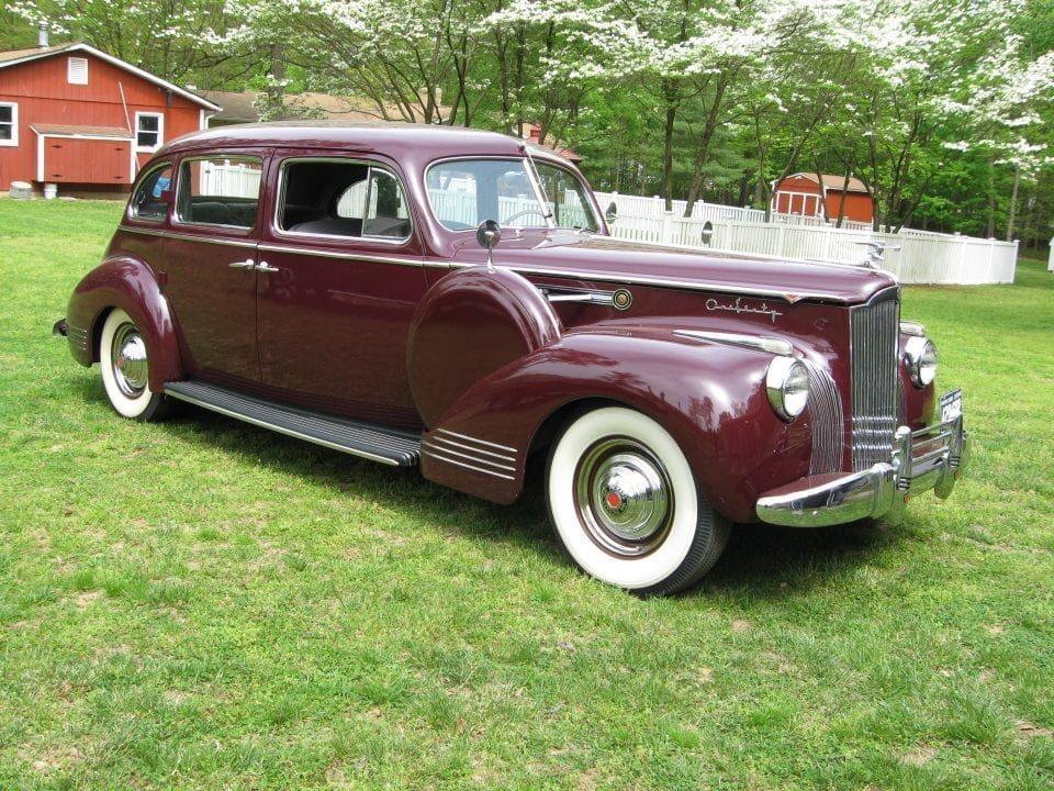 Packard 160 four-door sedan