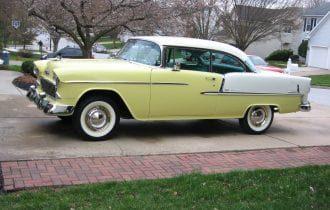 "`55 Chevrolet Bel Air — ""Lemon Aid"" is Finally Home!"