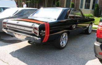 """`68 Dodge Dart GTS: Sold New at """"Mr. Norm's"""" Grand Spalding Auto Sales in Chicago!"""