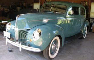 `40 Ford Standard Two-Door Sedan: Looks Stock but is Slightly Hot!