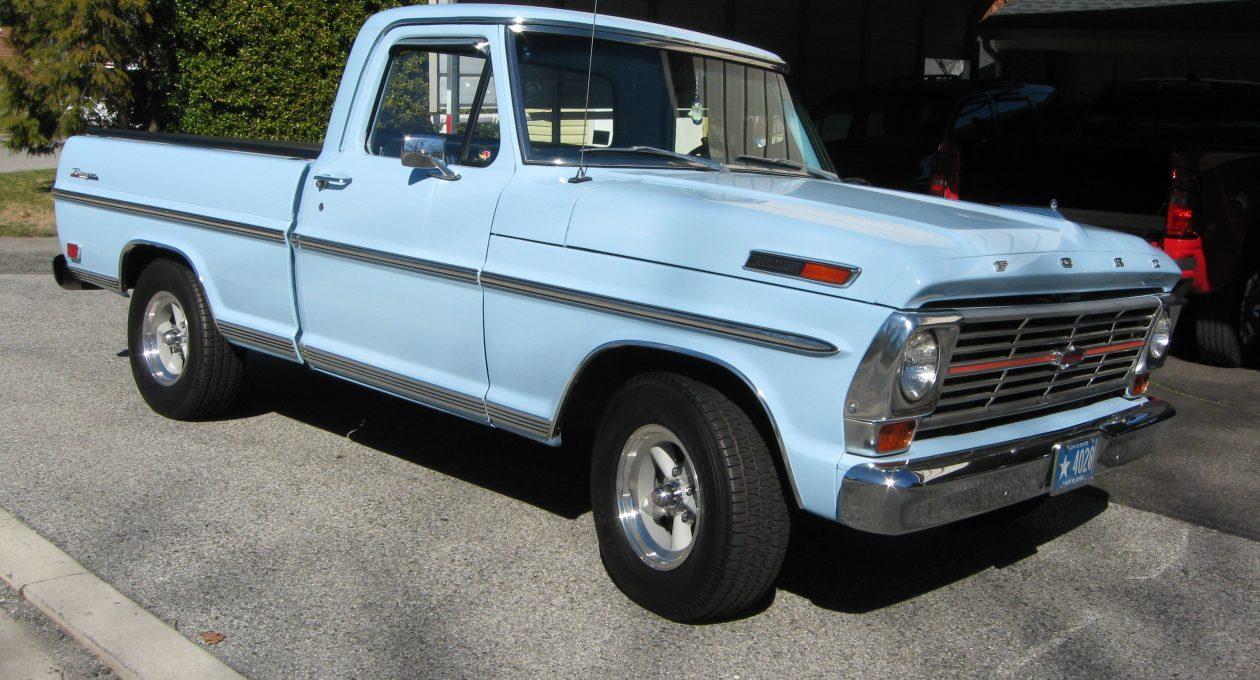 `69 Ford F100 Ranger Pickup: A Gentleman's Hauler!