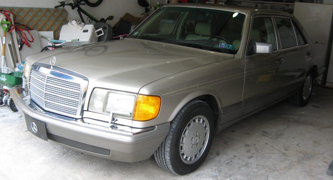 `91 Mercedes-Benz 56 SEL: Super Clean!