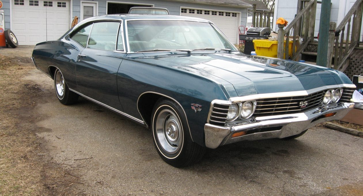 `67 Chevrolet SS427 Sport Coupe: Documented, Low Mileage, All Original Muscle!