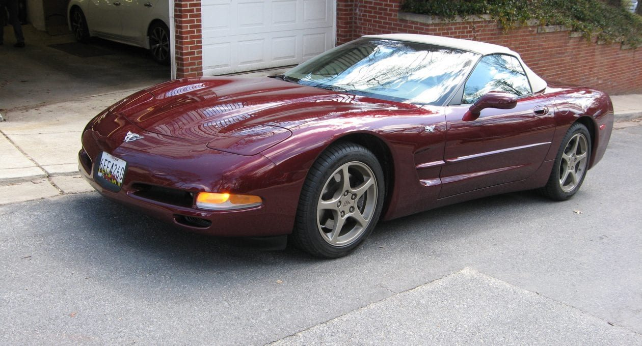 `03 Chevrolet Corvette Convertible 50th Anniversary Edition: A Ruby Red Beauty!