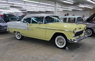 "`55 Bel Air Sport Coupe: ""Lemon Aid"" Wins a ""Best of Show"" Award!"