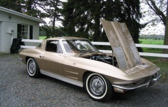 "`63 Corvette Sting Ray ""Split Window"" Coupe: An American Icon!"